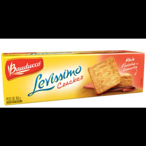 BISCOITO BAUDUCCO LEVISSIMO CRACKERS  200g