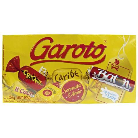 BOMBONS SORTIDOS GAROTO CAIXA 300g