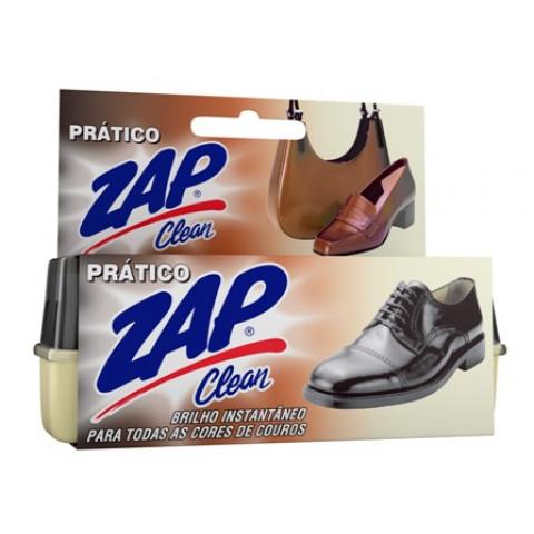 BRILHO PRATICO ZAP CLEAN SILICONE PARA COURO 5g