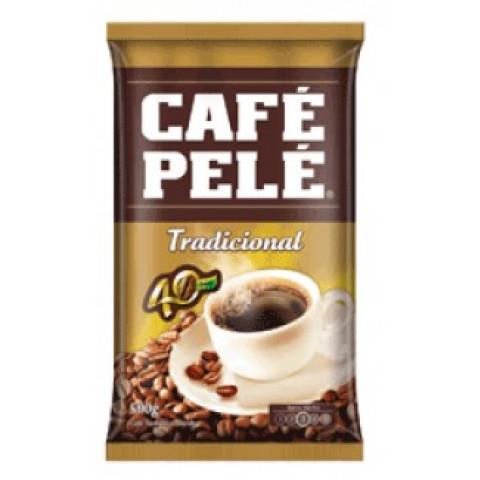 CAFÉ TORRADO E MOÍDO TRADICIONAL PELE  PACOTE 500g