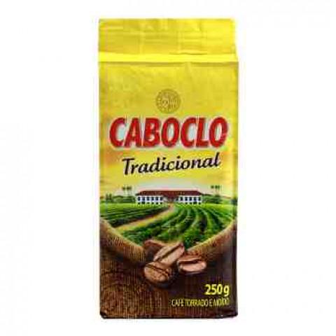 CAFE CABOCLO TRADICIONAL A VACUO 250g