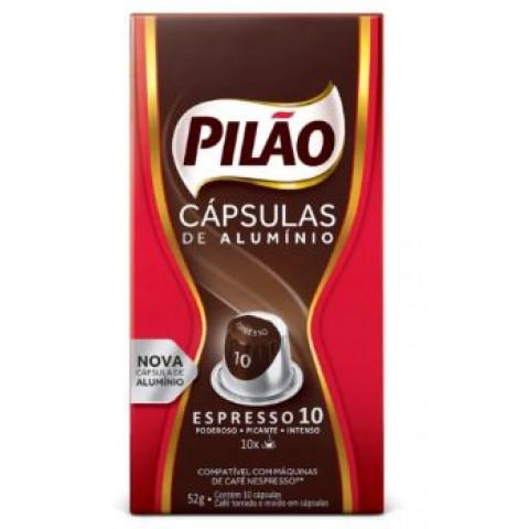 CAFE ESPRESSO 10 PILAO COM 10 CAPSULAS DE ALUMINIO