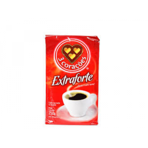 CAFE EXTRAFORTE 3 CORACOES 250g