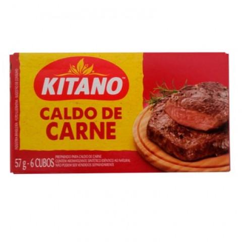 CALDO DE CARNE KITANO COM 6 CUBOS