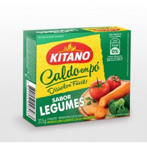 CALDO DE LEGUMES EM PO KITANO COM 5 ENVELOPES
