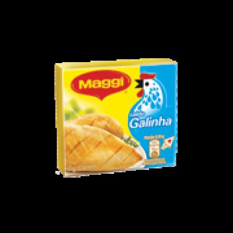 CALDO NESTLÉ MAGGI SABOR GALINHA 63g COM 6 CUBOS