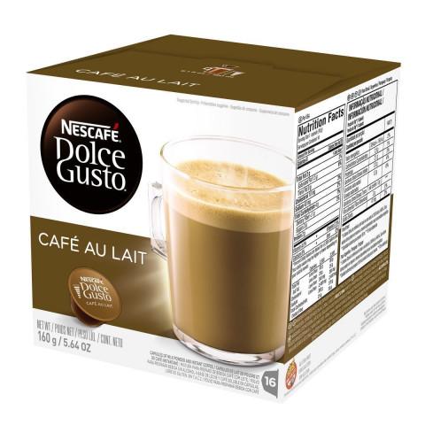 CAPSULA DE CAFE NESCAFE DOLCE GUSTO AU LAIT 16x10g