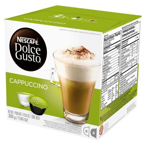 CAPSULA DE CAFE NESCAFE DOLCE GUSTO CAPPUCCINO COM 16