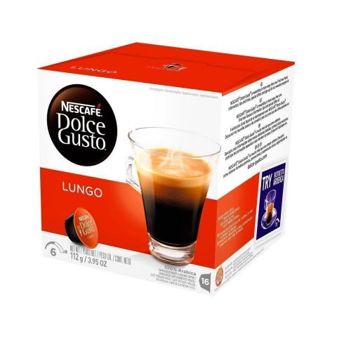 CAPSULA DE CAFE NESCAFE DOLCE GUSTO LUNGO 16x7g
