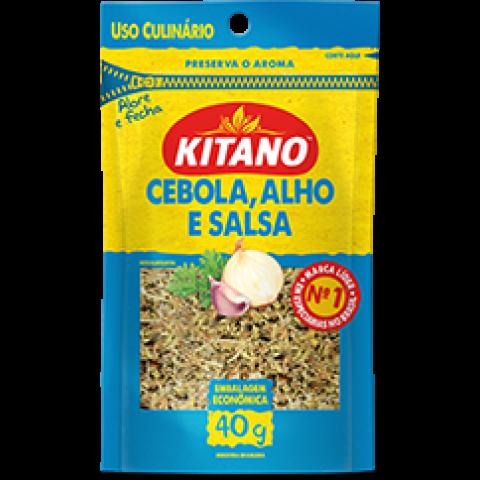 CEBOLA COM ALHO E SALSA KITANO 40g