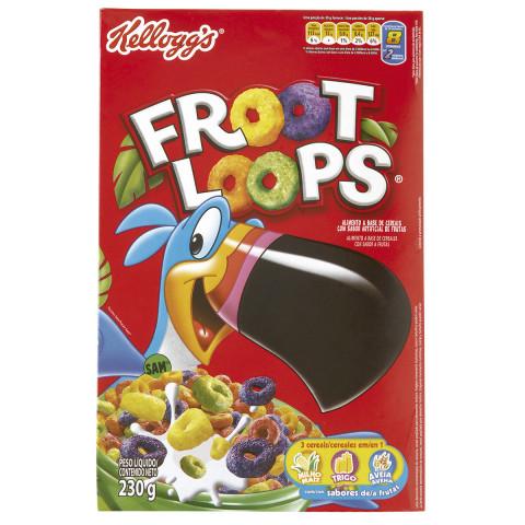 CEREAL MATINAL KELLOGG'S FROOT LOOPS 230g