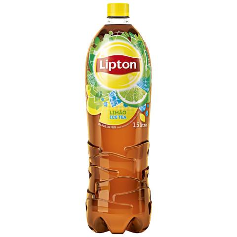 Chá Preto Ice Tea LIPTON Limão Garrafa 1,5 Litros