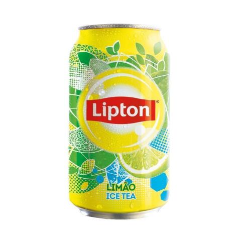 Chá Preto Ice Tea LIPTON Limão Lata 340ml