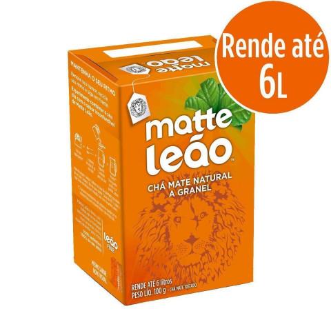 CHA MATTE LEAO NATURAL 100g