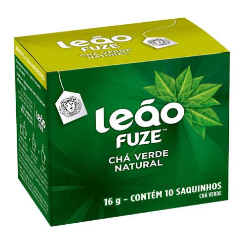 CHA VERDE NATURAL LEAO FUZE 16g 10 SAQUINHOS