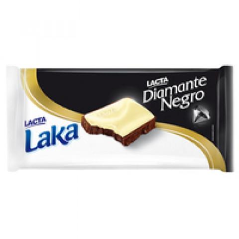 CHOCOLATE DIAMANTE NEGRO E LAKA LACTA 135g