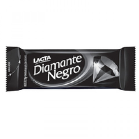 CHOCOLATE DIAMANTE NEGRO LACTA BARRA 25g