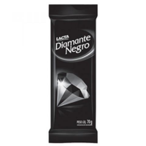 CHOCOLATE DIAMANTE NEGRO LACTA BARRA 90g