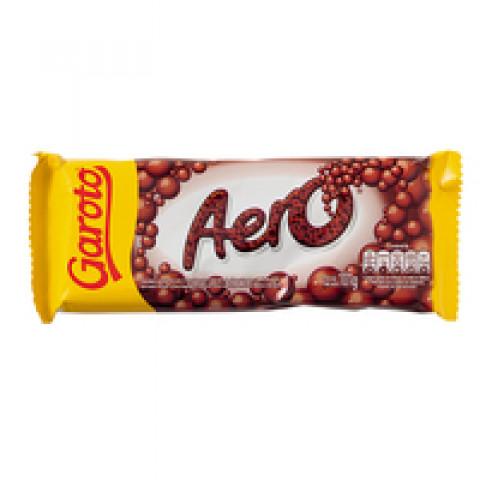 CHOCOLATE GAROTO AO LEITE AERO BARRA 101g