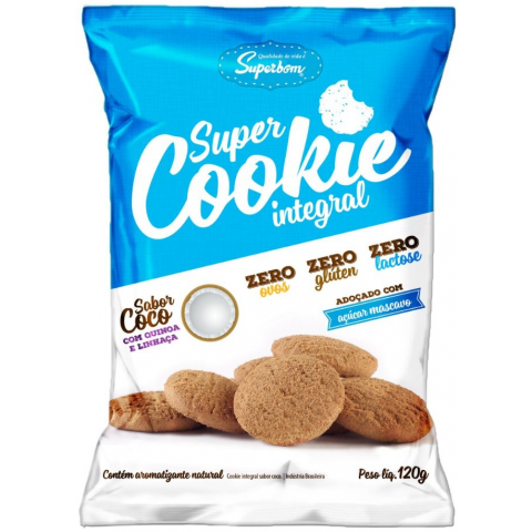 COOKIE INTEGRAL COCO SUPERBOM 120g