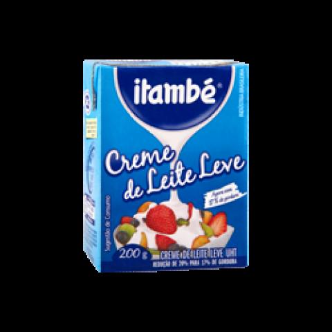 CREME DE LEITE LEVE ITAMBE CAIXA 200g