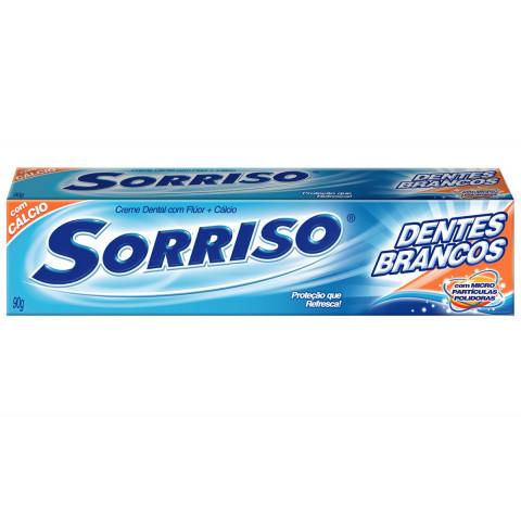 CREME DENTAL SORRISO DENTES BRANCOS 90g