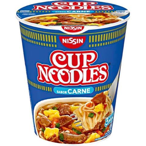 CUP NOODLES CARNE NISSIN 69g