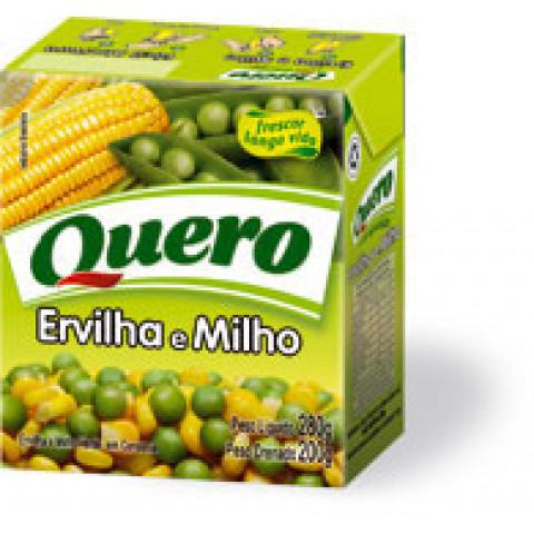 ERVILHA E MILHO QUERO 200g