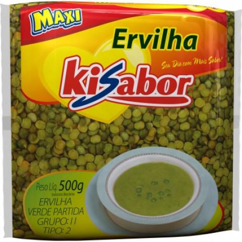 ERVILHA VERDE PARTIDA KISABOR 500g