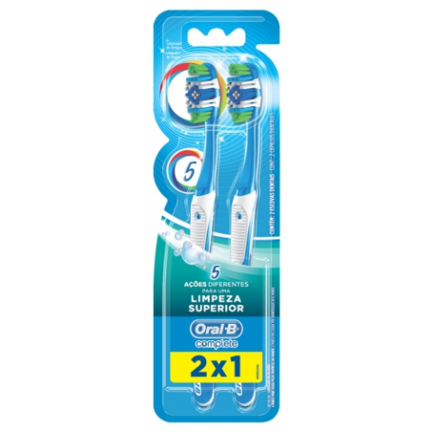 ESCOVA DENTAL ORAL-B COMPLETE 40 2un