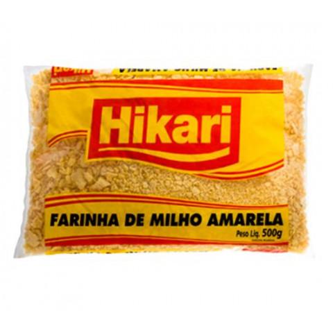 FARINHA DE MILHO AMARELA HIKARI 500g