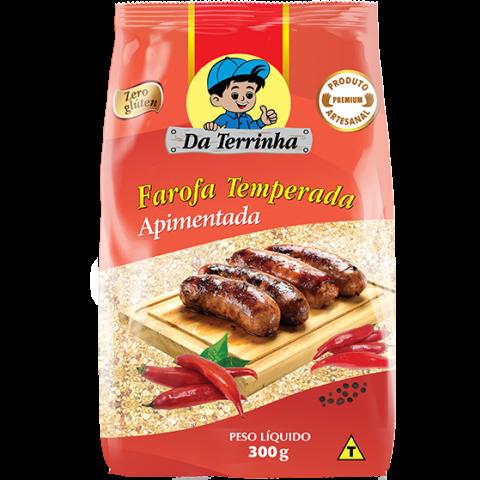 FAROFA DE MANDIOCA APIMENTADA DA TERRINHA 300g