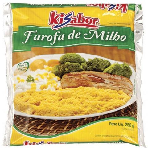 FAROFA DE MILHO KISABOR 250g