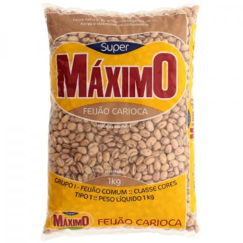 FEIJAO CARIOCA MAXIMO 1Kg