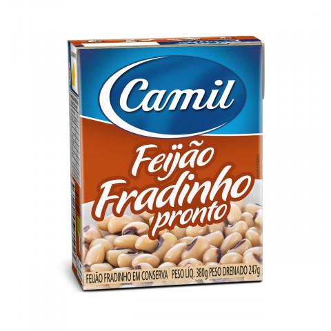 FEIJAO FRADINHO CAMIL PRONTO TEMPERADO 380g