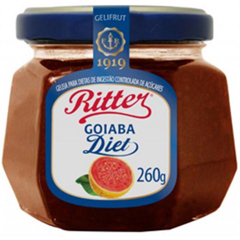 GELEIA DIET GOIABA RITTER 260g
