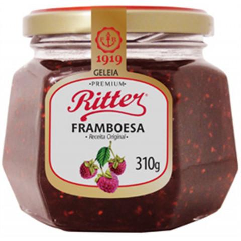 GELEIA TRADICIONAL FRAMBOESA RITTER 310g