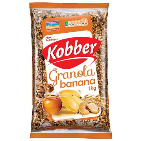GRANOLA KOBBER BANANA E MEL 1k