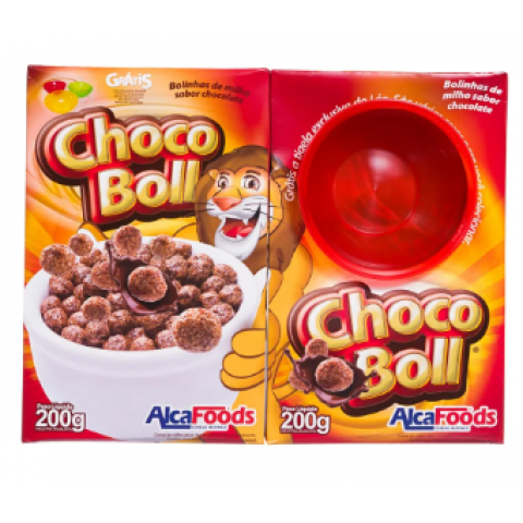 KIT CEREAL MATINAL CHOCO BOLL ALCA FOODS E TIGELA 400g