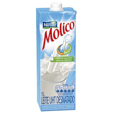 LEITE LONGA VIDA MOLICO DESNATADO 1l