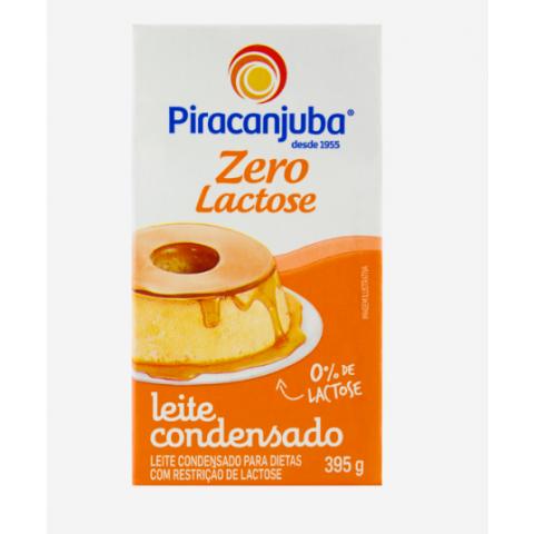 LEITE CONDENSADO PIRACANJUBA ZERO LACTOSE 395g