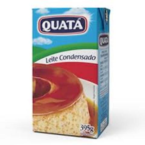 LEITE CONDENSADO QUATA 395g