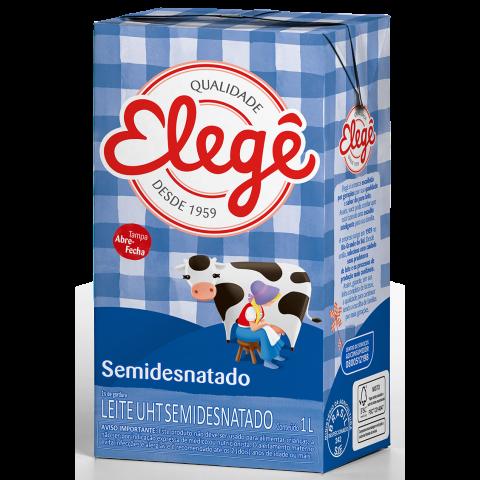 LEITE LONGA VIDA SEMIDESNATADO ELEGE 1l