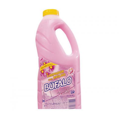 LIMPADOR COM BRILHO BUFALO FLORAL 750ml