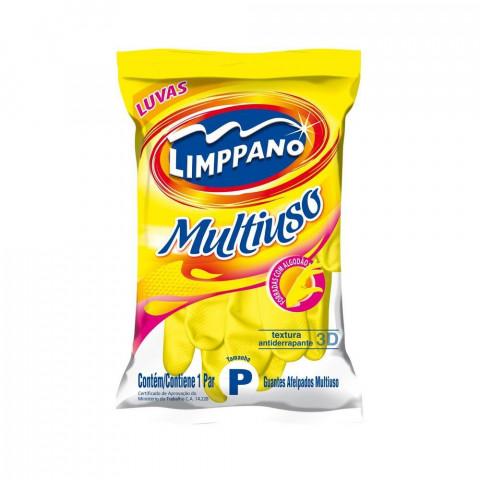 LUVAS DE LATEX LIMPPANO MULTIUSO 1 PAR TAM P