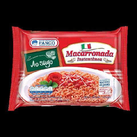 MACARRONADA INSTANTANEA PANCO AO SUGO 87g