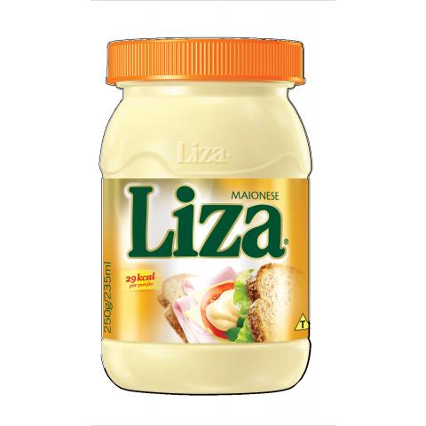 MAIONESE LIZA TRADICIONAL 250g