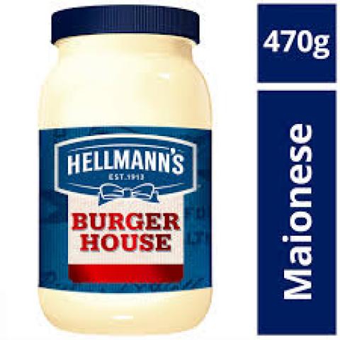 MAIONESE HELLMANNS BURGUER HOUSE 470g