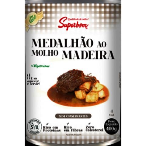MEDALHAO AO MOLHO MADEIRA VEGANO SUPERBOM 400g
