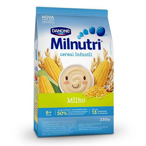MILNUTRI CEREAL INFANTIL DE MILHO 230g